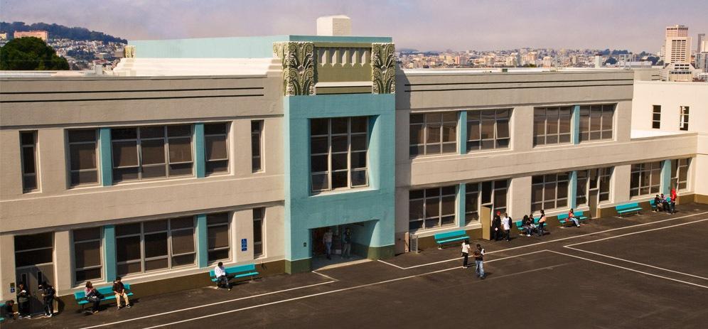 Downtown High School Modernization San Francisco Unified
